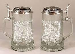 James Meger Vidrio Cola Blanca Stein Grabado Alemán Vidrio   Mercado Libre