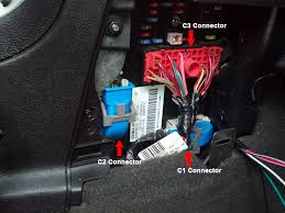 2007 chevrolet hhr pictorial this contains the negative parking lights brown white pin 5 the horn wire tan pin 14 and the security led green pin 11 as pictured below
