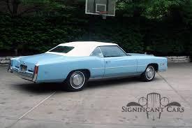 1975 Cadillac Eldorado - Significant Cars, Inc.