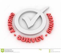 survey words survey check mark stock illustration illustration of responses