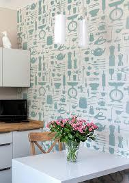 Kitchen Wallpaper Graduate Collection Airfix Kitchen Wallpaper Red