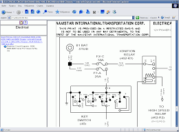 international truck isis international truck wiring diagram manual at 2000 International 4900 Wiring Diagram