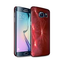 Samsung S6 Edge Red Light Stuff4 Gloss Snap Case For Samsung Galaxy S6 Edge Life Light