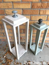 make your own easy diy wood lanterns from s wood lanterns are very versatile for
