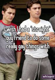 Straight guys doing gay things