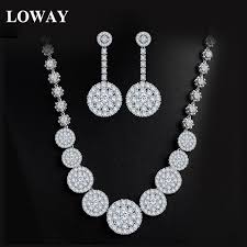 loway fashion women wedding statement necklace earrings ethiopian jewelry set indian bridal jewellery whole xl1923 in jewelry sets from jewelry