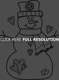 Small Picture Coloring Pages Kid With Snowman Coloring Page Free Printable