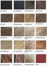 Sample Hair Colors Chart Ion Blonde Color Chart Sbiroregon Org