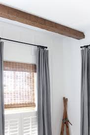 Faux Wood Beams AZ Faux The Lettered Cottage Master Bedroom Ceiling 600x900