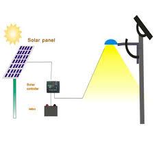 Ktg Integrated Solar Light 24v Street Light Solar System Solar System Street Light