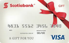 register your card using our scotiabank cardholder services the scotiabank visa gift