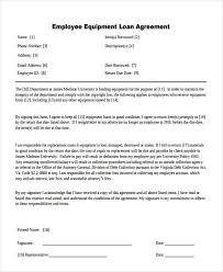 Company Loan To Employee Agreement 27 Loan Agreement Formats Word Pdf Pages Free