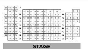 Seating Chart Barn Theatre