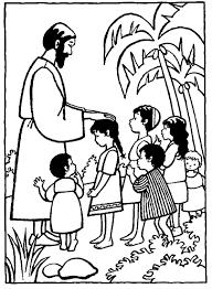 Kleurennu Jezus Zegent Kinderen Kleurplaten