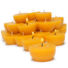 Beeswax Tea Lights Bulk Refill Serenibee Candle