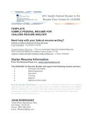 Federal Resumes Templates Federal Resume Template Sample Famous ...