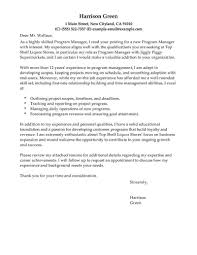 executive cover letter for resume best management cover letter examples livecareer