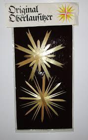 Ddr Original Oberlausitzer Weihnachtsstern 3 Stück Neu