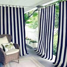 cabana stripe outdoor curtains highland