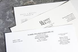 Engraved Letterhead Bradley Engraved Stationery Business Stationery ...