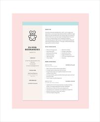 10+ Nanny Resume Templates - Pdf, Doc   Free & Premium Templates