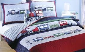 boys twin bedding sets fabulous as beds for kids length of bed pertaining to train duvet set design 13