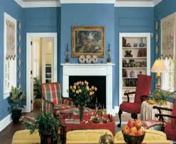 Painting For Small Living Room Ideas For Home Decoration Living Room With Classic Blue And White