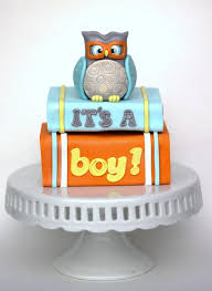 Owl Baby Shower Cake Topper  Adorable Owl Baby Shower Ideas With Baby Shower Owl Cake Toppers