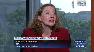 Carrie Johnson on the Future Leadership of the FBI | C-SPAN.org
