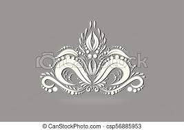 ロータス ロゴ 抽象的 花