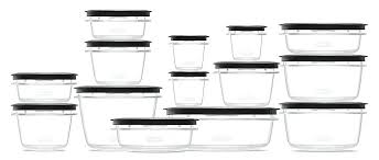 premier food storage containers piece set grey rubbermaid glass container