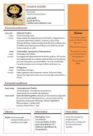 Formatos De Curriculum Simple Ejemplos De Curriculum Vitae Modelos De Curriculum