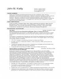 Resume Templates Automotive Service Manager Examples Financial