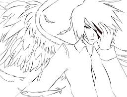 Anime Boy Coloring Pages Anime Coloring Pages Best Anime Boy