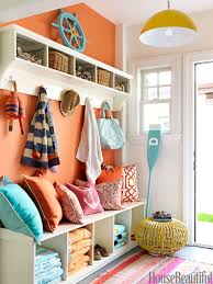 welcoming entry bright colorful home