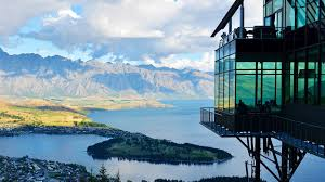 new zealand, lake, mountain, distance ...