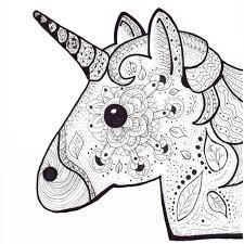 25 Bladeren Kleurplaten Emoji Unicorn Mandala Kleurplaat Voor