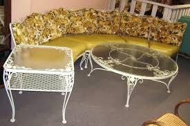 wrought iron patio furniture cushions. Furniture: Attractive Floral Woodard Patio Furniture Sets - Cushions · Chocolate Wrought Iron