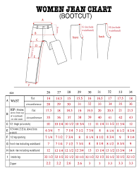 Plus Size Jeans Chart Ladies Jeans Size Chart Silver Jeans Size Chart Plus Sizes