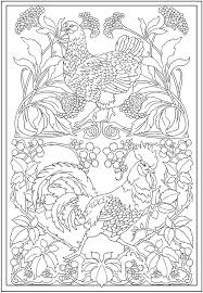 Small Picture Creative Haven Art Nouveau Animal Designs Coloring Book Dover