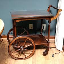 vintage wooden tea cart plans