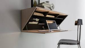 wall mounted desk organizer storage ideas