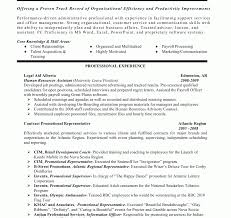 General Resume Objective Examples With Professional Experience Sales ...