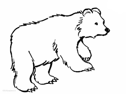 Coloring Pages Ideas Phenomenal Brown Bear Coloring Pages Picture