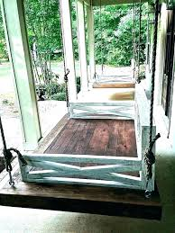 porch bed swing plans fabulous twin bed swing porch bed swing plans daybed porch swing plans