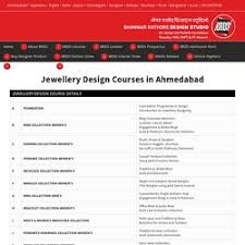 best insute for jewellery designing course in delhi india