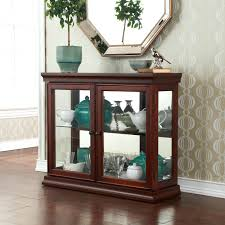 unique small curio cabinet with glass doors 36 for your cabinetry design ideas with small curio