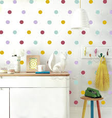 mix color polka dots wall sticker wall decal removable home decoration art wall decor wall art dq 447 2 super mario wall stickers train wall decals from
