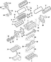 ford 3c3z6g091a genuine oem rear main seal retainer