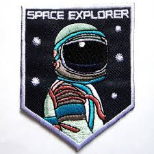 Detail Feedback Questions about <b>1Pcs SPACE EXPLORER Iron</b> On ...